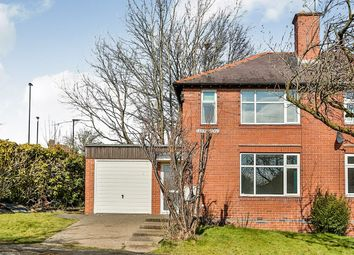 Thumbnail 3 bed semi-detached house for sale in Laverdene Way, Totley Rise, Sheffield
