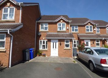 Thumbnail 3 bed mews house for sale in Park View Close, Blurton, Stoke-On-Trent