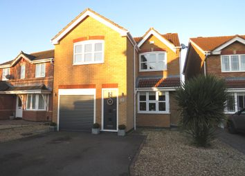 Thumbnail 3 bed detached house for sale in Guinevere Way, Leicester Forest East, Leicester