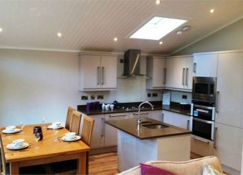 Thumbnail 3 bed mobile/park home for sale in Calgarth 53, White Cross Bay, Windermere