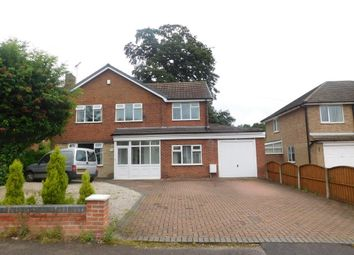 Thumbnail 4 bed detached house to rent in Greendale Avenue, Edwinstowe, Mansfield
