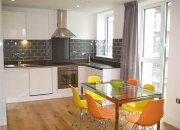 Thumbnail 2 bed flat to rent in Sovereign Tower, Emily Street, London