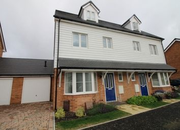 Thumbnail 3 bed property to rent in Navigation Drive, Yapton, Arundel