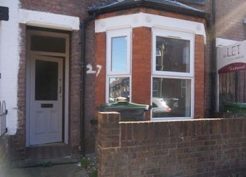 Thumbnail 4 bedroom terraced house to rent in Lyndhurst Road, Luton