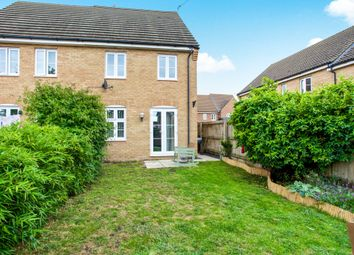 Thumbnail 3 bedroom semi-detached house for sale in Heron Way, Benwick, March