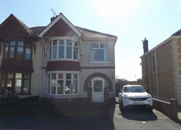Thumbnail 3 bed semi-detached house for sale in Denham Avenue, Llanelli, Llanelli