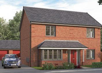 """Thumbnail 5 bed detached house for sale in """"The Amersham"""" at The Cloisters, Wood Street, Earl Shilton, Leicester"""