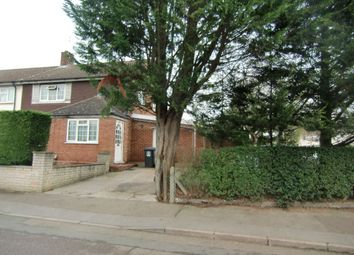 Thumbnail 3 bed end terrace house for sale in The Pelhams, Watford