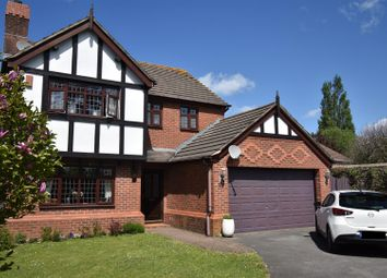 Thumbnail 4 bed detached house for sale in Larkfield Park, Chepstow
