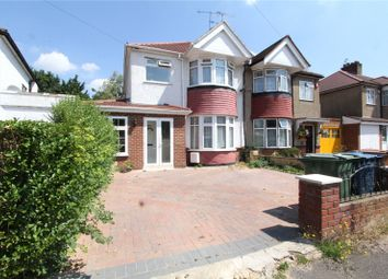 Thumbnail 3 bed semi-detached house for sale in Chester Drive, Harrow