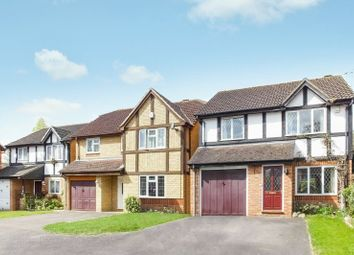 Thumbnail 4 bed detached house for sale in Alexandra Gardens, Knaphill, Woking