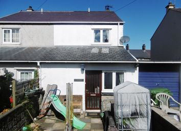 Thumbnail 2 bed semi-detached house for sale in Stad Llwynaethnen, Trefor, Caernarfon