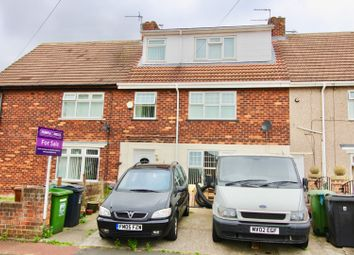 Thumbnail 3 bed terraced house for sale in Spenser Grove, Hartlepool