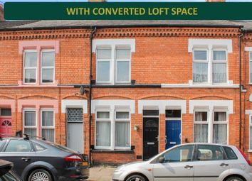 Thumbnail 2 bed terraced house for sale in Edward Road, Clarendon Park, Leicester