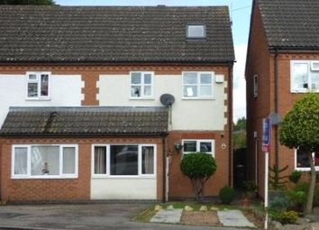 Thumbnail 4 bed semi-detached house for sale in Spinney Court, Croft, Leicester, Leicestershire
