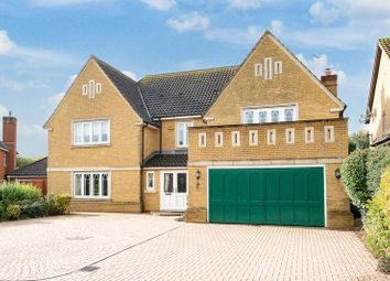 Thumbnail 5 bed detached house for sale in Danesbrook Close, Furzton, Milton Keynes