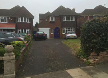 Thumbnail 4 bedroom detached house to rent in Queens Rd, Birmingham