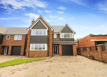 Thumbnail 5 bed detached house for sale in St Davids Park, Cramlington, Tyne And Wear