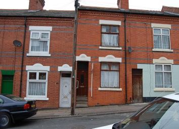 Thumbnail 3 bedroom terraced house to rent in Berners Street, Highfields, Leicester