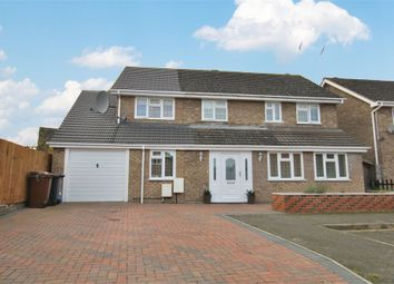Thumbnail 5 bed detached house for sale in Baunhill Close, Abington Vale, Northampton