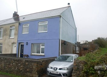 Thumbnail 3 bed end terrace house for sale in Castle View, St Dennis, Cornwall