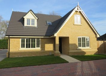 Thumbnail 4 bed detached house for sale in Hardwick Court, Holme, Peterborough