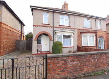 Thumbnail 3 bed semi-detached house for sale in Geneva Road, Darlington
