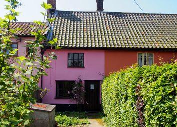 Thumbnail 2 bedroom terraced house for sale in Bunwell Street, Bunwell, Norwich