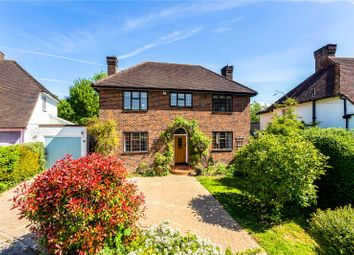 Thumbnail 4 bed detached house for sale in Ridgegate Close, Reigate, Surrey
