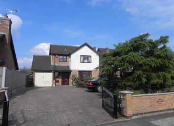 Thumbnail 3 bedroom detached house for sale in Harrogate Way, Wigston, Leicestershire