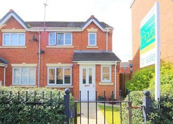 Thumbnail 3 bed semi-detached house for sale in Hansby Drive, Hunts Cross, Liverpool