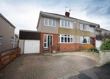 Thumbnail 3 bed semi-detached house for sale in Stockwell Avenue, Mangotsfield, Bristol