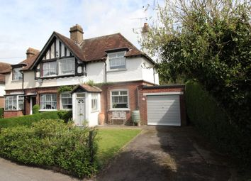 Thumbnail 3 bed semi-detached house for sale in Stonehall Road, Lydden, Dover