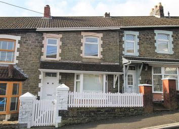Thumbnail 3 bed terraced house for sale in Coronation Road, Evanstown, Gilfach Goch, Porth