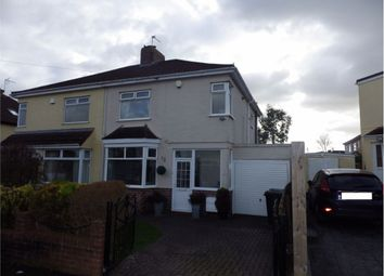 Thumbnail 3 bed semi-detached house for sale in Whitecross Avenue, Whitchurch, Bristol