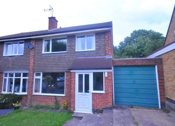 Thumbnail 3 bed semi-detached house for sale in Pope Crescent, Enderby