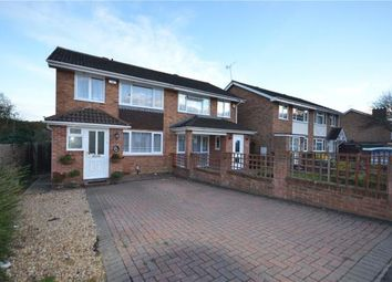 Thumbnail 3 bed semi-detached house for sale in Britten Road, Basingstoke, Hampshire