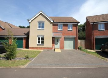 Thumbnail 4 bed detached house for sale in Redpoll Road, Costessey, Norwich