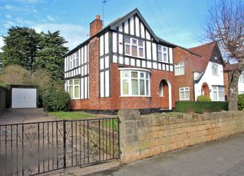 Thumbnail 3 bed detached house for sale in Oakdale Road, Carlton, Nottingham
