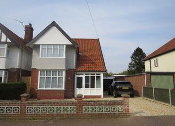 Thumbnail 3 bedroom detached house for sale in Waldemar Avenue, Hellesdon, Norwich