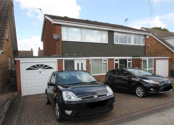 Thumbnail 3 bedroom semi-detached house for sale in Winchester Avenue, Walderslade, Kent