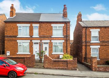 3 bed semi-detached house for sale in Victoria Road, Pinxton, Nottingham, Derbyshire NG16