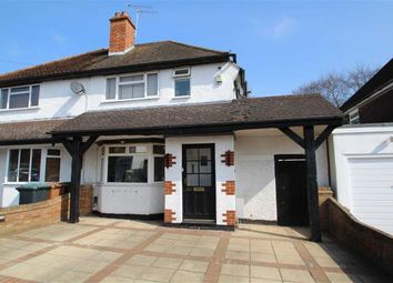 Thumbnail 2 bed semi-detached house for sale in Mill Way, Mill End, Rickmansworth