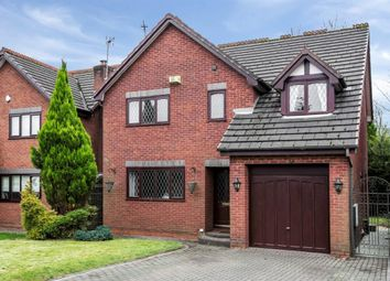Thumbnail 4 bed detached house for sale in Bellpit Close, Worsley, Manchester