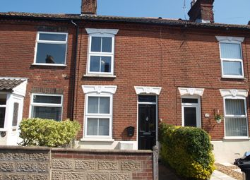Thumbnail 2 bedroom terraced house to rent in Churchill Road, Norwich