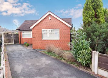 Thumbnail 2 bedroom detached bungalow for sale in Mayfair Crescent, Manchester