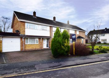 Thumbnail 3 bed semi-detached house for sale in Ladds Way, Swanley, Kent