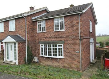 Thumbnail 3 bed end terrace house for sale in Leam Close, Colchester
