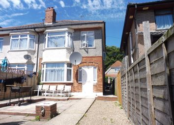 Thumbnail 3 bed semi-detached house for sale in Brassey Road, Winton, Bournemouth