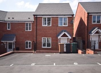Thumbnail 3 bed semi-detached house to rent in Calwich Close, Woodville, Swadlincote